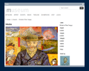 Artwork viewer with detailed information
