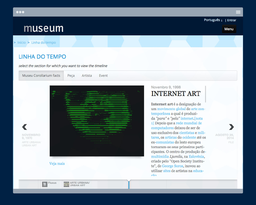 Interactive timeline for your museum